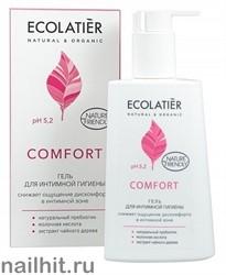 171517 Ecolab Ecolatier Inspirat Гель для интимной гигиены Comfort с молочной кислотой и пробиотиком 250мл