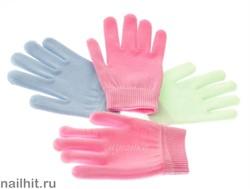 11286 JessNail Увлажняющие гелевые перчатки (силиконовые) розовые