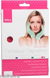 6593 Medolla Увлажняющие гелевые перчатки 1760-1PRT-D с ароматом розы