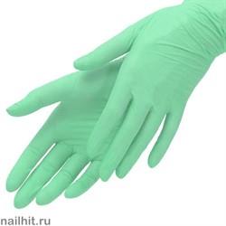 12408 MediOk Перчатки нитриловые 100 шт/уп, размер M, цвет Зеленый