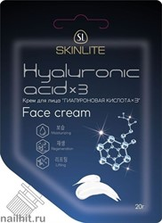 "620 SkinLite Крем ""Гиалуроновая кислота*3"" 20гр HYALURONIC ACID*3"