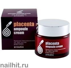 15623 Jigott Ампульный крем 0393 Крем для лица с плацентой zenzia placenta ampoule cream 70мл