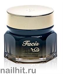 15653 Jigott Крем 1333 со слизью черной улитки Facis All-in-one Black Snail Cream 100мл