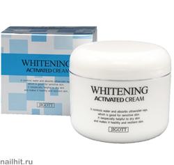 15608 Jigott Крем 6500 Осветляющий разглаживающий крем для лица с антивозрастным эффектом Whitening Activated Cream