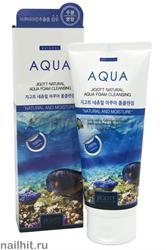 7036 Jigott Пенка для умывания 0950 Увлажняющая 180мл NATURAL Aqua Foam Cleansing