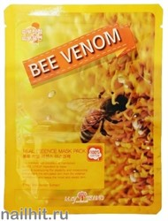 15326 May Island Маска тканевая 0884 с экстрактом пчелиного яда 25мл Real Essense Bee Venom Mask Pack