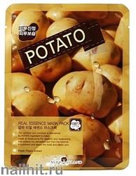 15891 May Island Маска тканевая для лица с картофелем 25мл Real Essense Potato Mask Pack