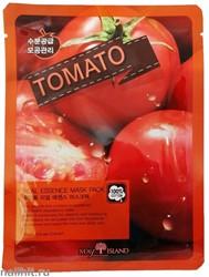 15892 May Island Маска тканевая для лица с томатом 25мл Real Essense Tomato Mask Pack