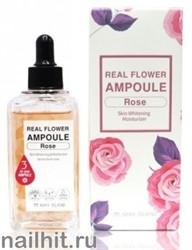 15345 May Island 0488 Осветляющая сыворотка с лепестками розы Real Flower Ampoule Rose