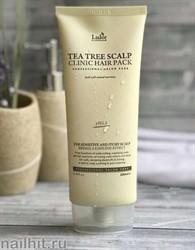 13128 Lador Маска для волос 0681 Оздоравливающая с экстрактом чайного дерева 200гр Teatree Scalp Clinic Hair Pack
