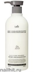13118 Lador Шампунь для волос 0889 Увлажняющий бессиликоновый 530мл Moisture Balancing Shampoo