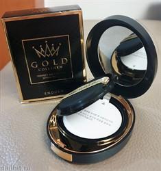 16019 Enough 0067 Увлажняющий кушон Золото, тон №21 Gold collagen perfect air cushion #21