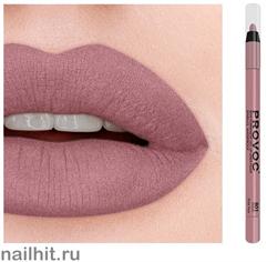 14318 Provoc № 801 Rozie Pose Гелевый карандаш для губ, лилово-бежевый нюд