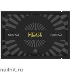 15674 Mijin Маска тканевая для лица 4659 с древесным углем, очищающая