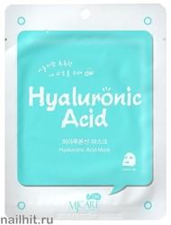 13601 Mijin Маска тканевая для лица с гиалуроновой кислотой 22гр сохраняет естественную влажность кожи