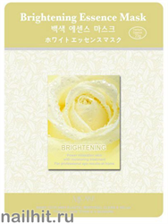 11462 Mijin Маска тканевая для лица 23гр осветляющая, увлажняющая и питательная