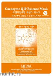 11454 Mijin Маска тканевая для лица с коэнзимом Q10 23гр антивозрастная