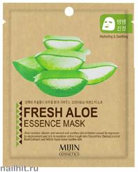 11431 Mijin Маска тканевая для лица с алоэ 25гр улучшает состояние кожи