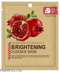 13583 Mijin Маска тканевая для лица с экстрактом граната 25гр усиливает эластичность и упругость кожи