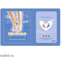11481 Mijin 2027 Маска для ног с гиалуроновой кислотой, эффективно смягчает, питает и увлажняет кожу