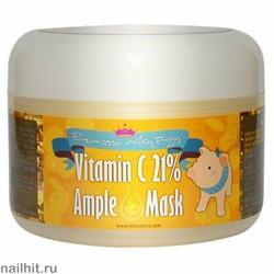 14883 Elizavecca 4117 Маска с витамином C с тонизирующим эффектом для сияния лица 100мл