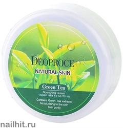 11980 Deoproce 0475 Крем для лица и тела с экстрактом зеленого чая 100мл питательный
