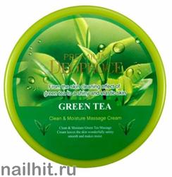 11967 Deoproce 3025 Крем для лица очищающий с экстрактом зеленого чая 300гр