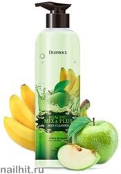 9129 Deoproce 1779 Гель для душа с экстрактами банана и зеленого яблока 750мл сохраняет увлажнение