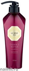 10408 La Miso Шампунь для восстановления поврежденных волос 500мл