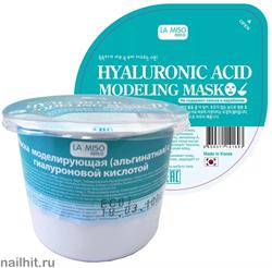 10400 La Miso Альгинатная маска для лица с гиалуроновой кислотой 28гр