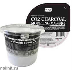 10401 La Miso Альгинатная маска для лица с углем на основе СО2 28гр