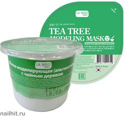 10398 La Miso Альгинатная маска для лица с чайным деревом 28гр