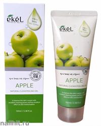 15904 Ekel 0232 Пилинг-скатка для лица с экстрактом зеленого яблока 100мл