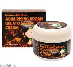 14887 Elizavecca 0147 Паровой крем для лица с аргановым маслом 100мл