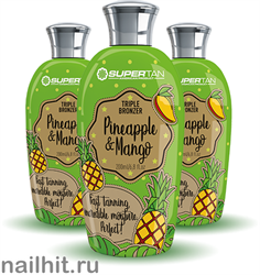 7694 SuperTan Крем для загара 200мл Ананас и манго Pineapple& Mango