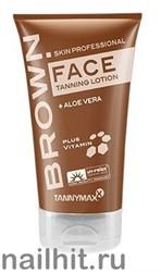 16658 Tannymaxx 2435 Крем для загара лица 50мл без бронзаторов Brown Face Tanning