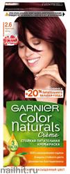 Garnier Краска для волос Колор Нэчралс 2.6 Красная ночь