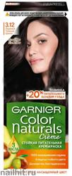 Garnier Краска для волос Колор Нэчралс 3.12 Ледяной темный шатен