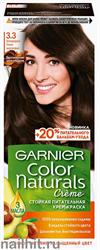 Garnier Краска для волос Колор Нэчралс 3.3 Благородный темно-каштановый