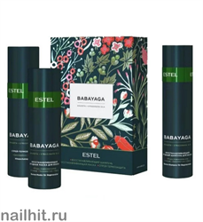 15288 Estel Набор для волос Babayaga (Шампунь 250мл, маска 200мл, термозащитный спрей 200мл)