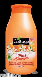 059633 Cottage Молочко для душа Увлажняющее Цветок Апельсина 250мл