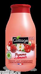 059657 Cottage Молочко для душа Увлажняющее Яблоко в карамели 250мл