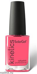 496 Kinetics SolarGel Лак гелевый для ногтей 15мл (Стойкий, БЕЗ уф-лампы)