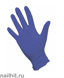 Перчатки Нитриловые Неопудренные Фиолетовые 100шт (Размер S)
