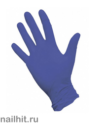 Перчатки Нитриловые Неопудренные Фиолетовые 100шт (Размер L)